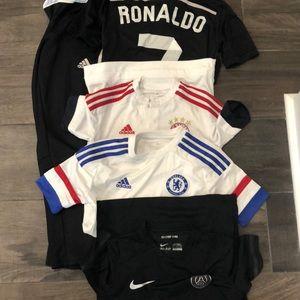 Other - Boys size small soccer jerseys